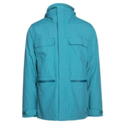 Burton Encore Mens Insulated Snowboard Jacket, Larkspur, medium