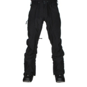 Burton Southside Mens Snowboard Pants, True Black, medium