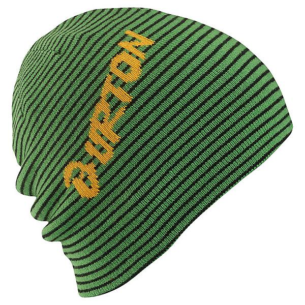 Burton Marquee Kids Hat, Slime-True Black, 600