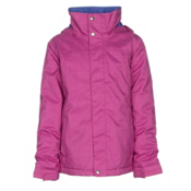Burton Elodie Girls Snowboard Jacket, Grapeseed, medium