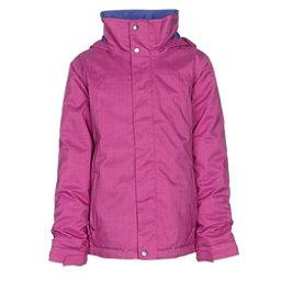 Burton Elodie Girls Snowboard Jacket, Grapeseed, 256