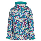 Burton Elodie Girls Snowboard Jacket, Rainbow Drops, medium