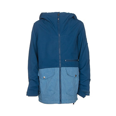 Burton Ace Boys Snowboard Jacket, Boro-Glacier, viewer