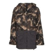 Burton Ace Boys Snowboard Jacket, Marker Camo-True Black, medium