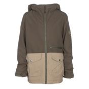 Burton Ace Boys Snowboard Jacket, Keef-Kelp, medium
