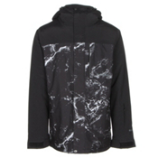 Armada Mantle Mens Insulated Ski Jacket, Black Wash, medium
