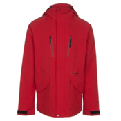 Armada Aspect Jacket Mens Shell Ski Jacket, Red, medium