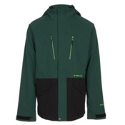 Armada Aspect Jacket Mens Shell Ski Jacket, Spruce, medium