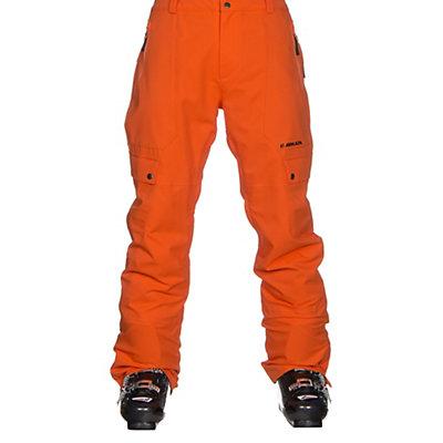 Armada Vision Pant Mens Ski Pants, October Orange, viewer