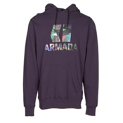 Armada Classic Pullover Hoodie, Deep Purple, medium