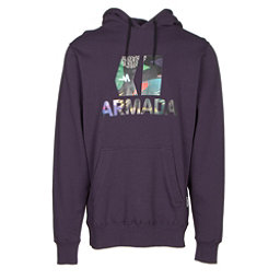 Armada Classic Pullover Mens Hoodie, Deep Purple, 256