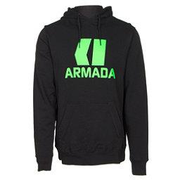 Armada Classic Pullover Mens Hoodie, Black, 256