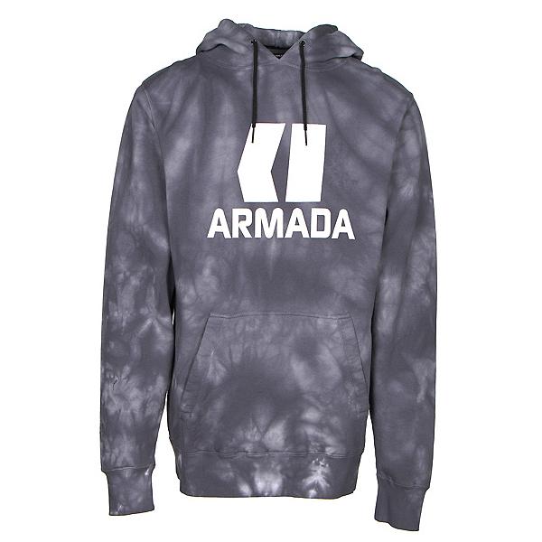 Armada Classic Pullover Mens Hoodie, Black Wash, 600