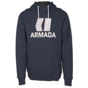 Armada Classic Pullover Mens Hoodie, Navy, medium