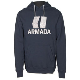 Armada Classic Pullover Mens Hoodie, Navy, 256