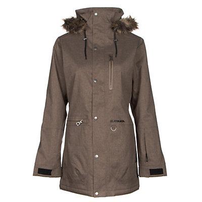 Armada Lynx with Faux Fur Womens Insulated Ski Jacket, Cub, viewer