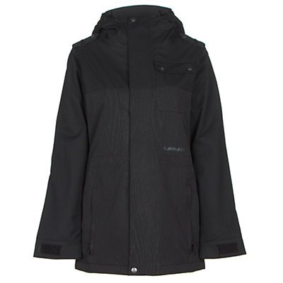 Armada Abbey Womens Insulated Ski Jacket, Black, viewer