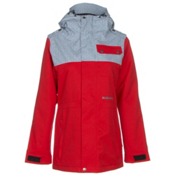 Armada Abbey Womens Insulated Ski Jacket, Red, medium