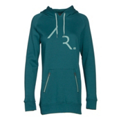 Armada Parker Pullover Tech Womens Hoodie, Lake, medium