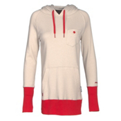 Armada Feather Pullover Womens Hoodie, Canvas, medium