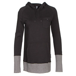 Armada Feather Pullover Womens Hoodie, Black, 256