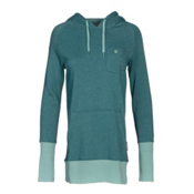 Armada Feather Pullover Womens Hoodie, Lake, medium