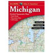 Liberty MTN Sports Michigan Atlas & Gazetteer 2017, , medium