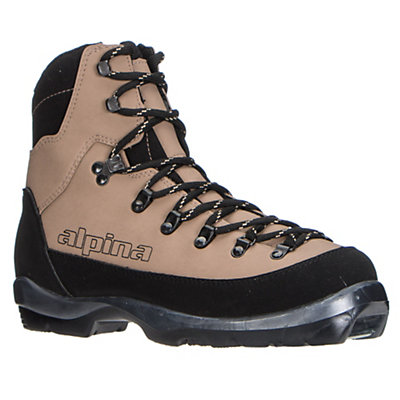 Alpina Montana NNN BC Cross Country Ski Boots 2017, Brown, viewer