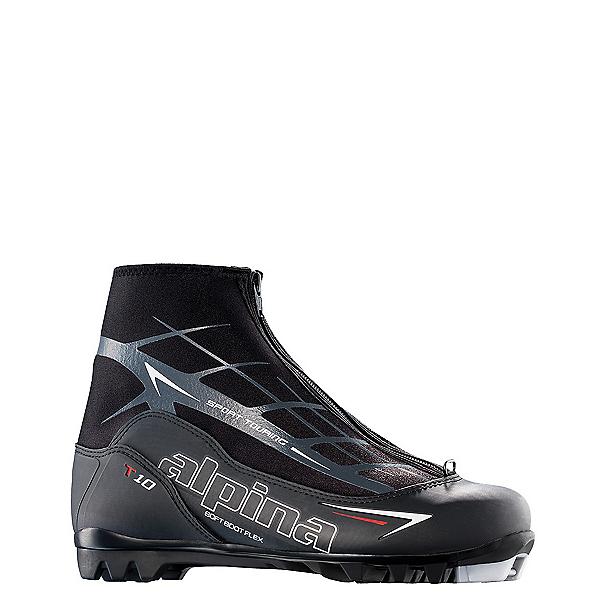 Alpina T 10 NNN Cross Country Ski Boots 2018, Black, 600
