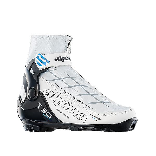 Alpina T 30 Eve Womens NNN Cross Country Ski Boots 2017, White, 600