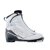Alpina T 5 Eve Plus Womens NNN Cross Country Ski Boots 2017, White, medium
