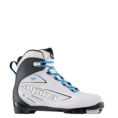 Alpina T 5 Eve Womens NNN Cross Country Ski Boots 2017, White, viewer
