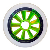 Atom Skates Boom Magic 100mm Inline Skate Wheels - 8 Pack, Xfirm, medium
