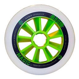 Atom Skates Boom Magic 100mm Inline Skate Wheels - 8 Pack, Xfirm, 256