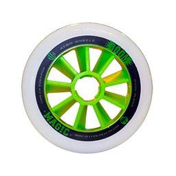 Atom Skates Boom Magic 110mm Inline Skate Wheels - 8 Pack, Xfirm, 256