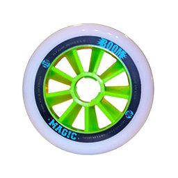 Atom Skates Boom Magic 110mm Inline Skate Wheels - 8 Pack, XXFirm, 256