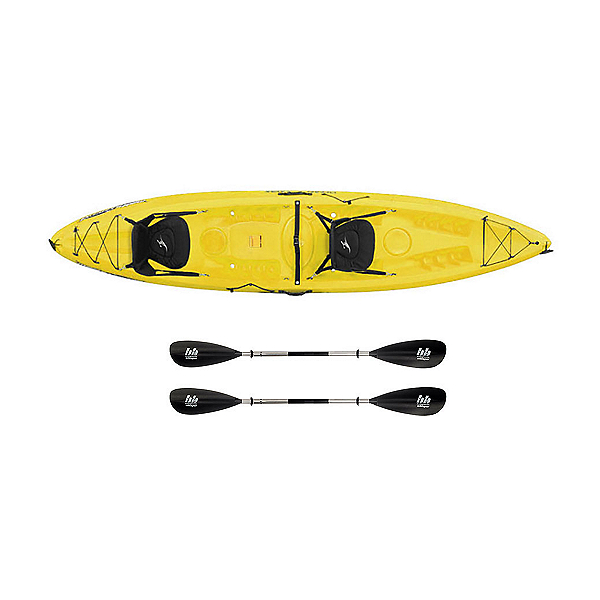 Ocean Kayak Malibu 2XL Tandem Kayak Yellow - Sport Package, , 600
