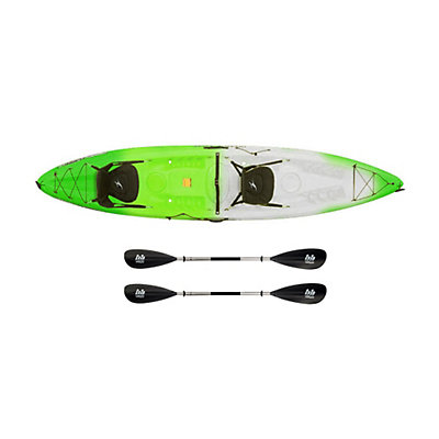 Ocean Kayak Malibu 2XL Tandem Kayak Envy Green - Sport Package, , viewer