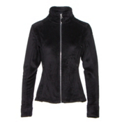 Obermeyer Tess Fleece Womens Jacket, Black, medium