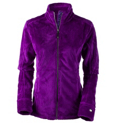 Obermeyer Tess Fleece Womens Jacket, Violet Vibe, medium