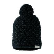 Obermeyer Sunday Knit Womens Hat, Black, medium