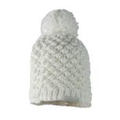 Obermeyer Sunday Knit Womens Hat, White, medium