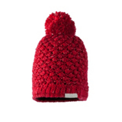 Obermeyer Sunday Knit Womens Hat, Crimson, medium