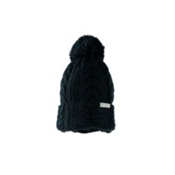 Obermeyer Skyla Womens Hat, Black, medium