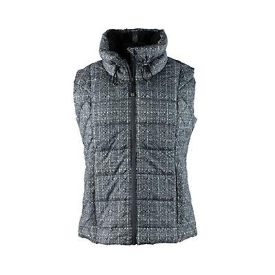 Obermeyer Dawn Insulator Womens Vest, Dark Heather Gray, viewer