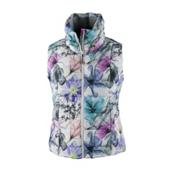 Obermeyer Dawn Insulator Womens Vest, X Ray Floral, medium