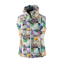 Obermeyer Dawn Insulator Womens Vest, Chevron Floral, 256