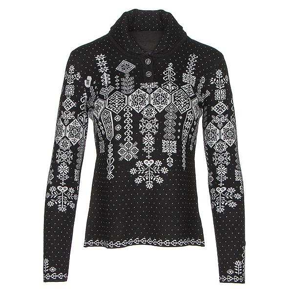Obermeyer Cabin Knit Pullover Womens Sweater, Black, 600