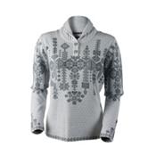 Obermeyer Cabin Knit Pullover Womens Sweater, Ceramic, medium