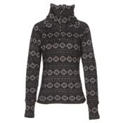 Obermeyer Brandi Womens Mid Layer, Black Snowflake, medium